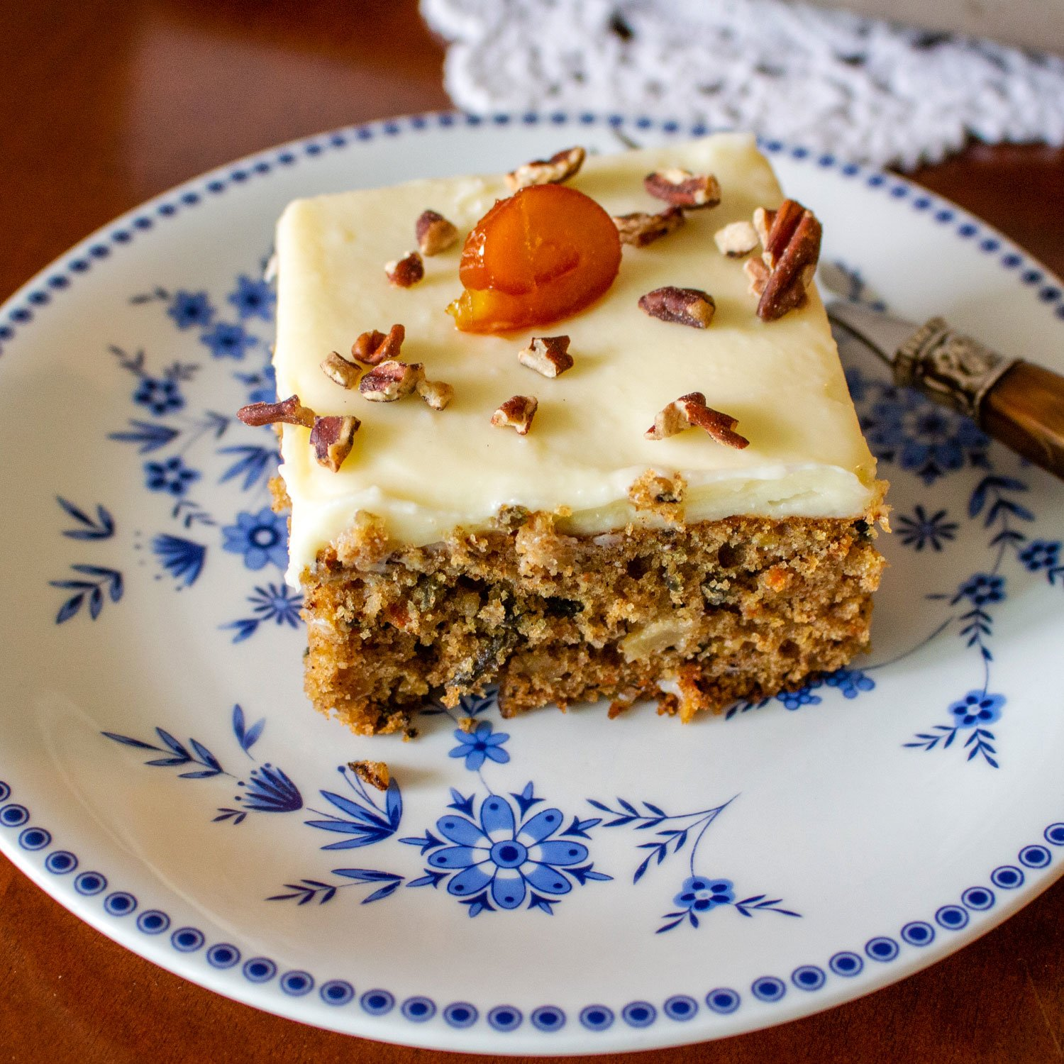 carrot cake with pineapple1212