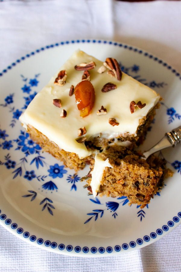 carrot cake with pineapple66