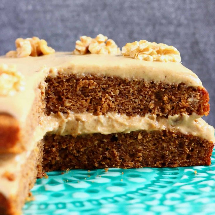 Gluten-Free Vegan Coffee Cake