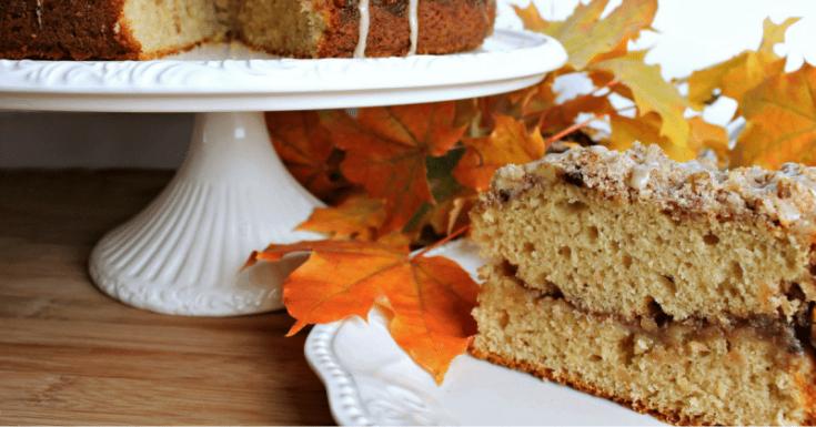 Maple Walnut Coffee Cake with Maple Glaze Recipe