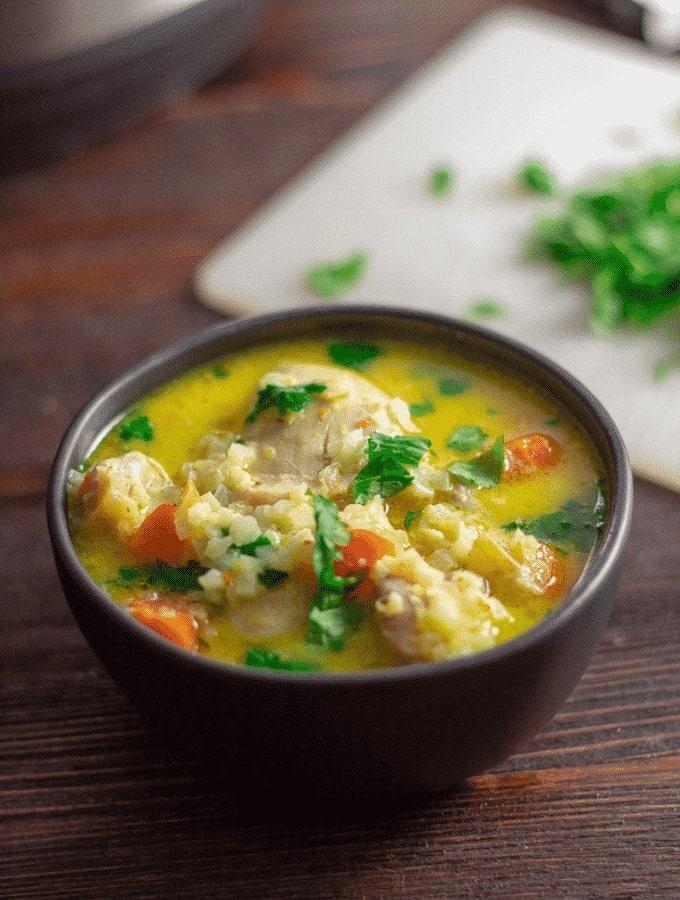 Chicken Mulligatawny Soup | Instant Pot, Paleo, Keto