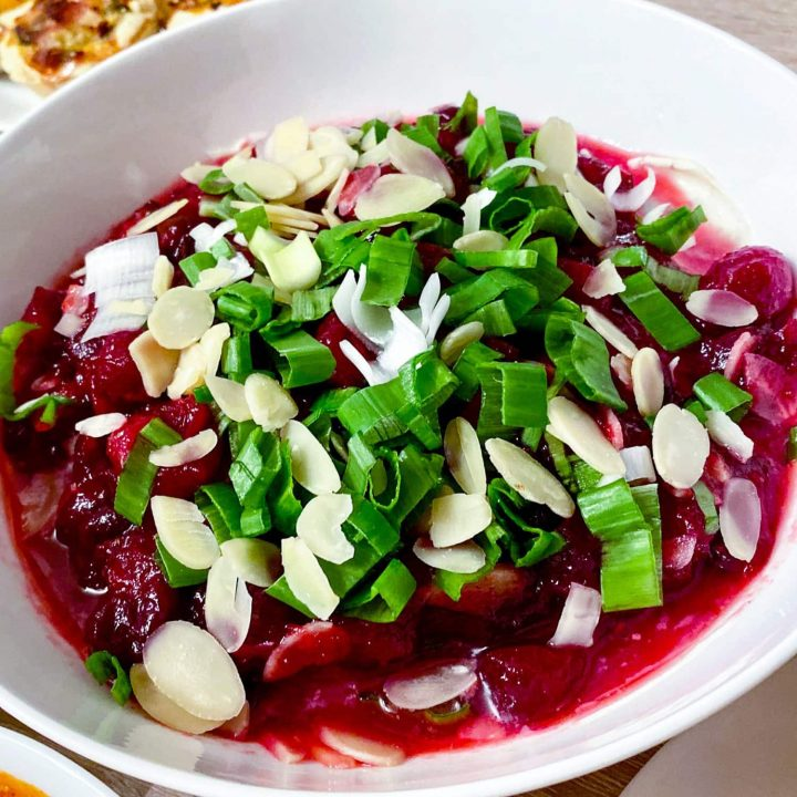 Cranberry Cream Cheese Dip55