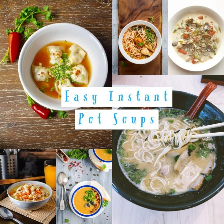 Soup Recipes in Instant Pot
