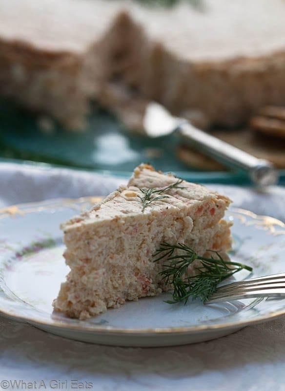 Savory Smoked Salmon Cheesecake Smoked trout mousse