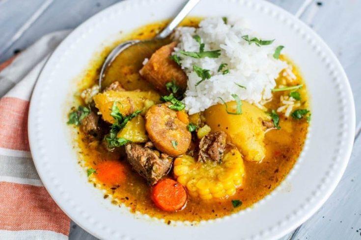 The Best Sancocho (Beef Stew) Recipe