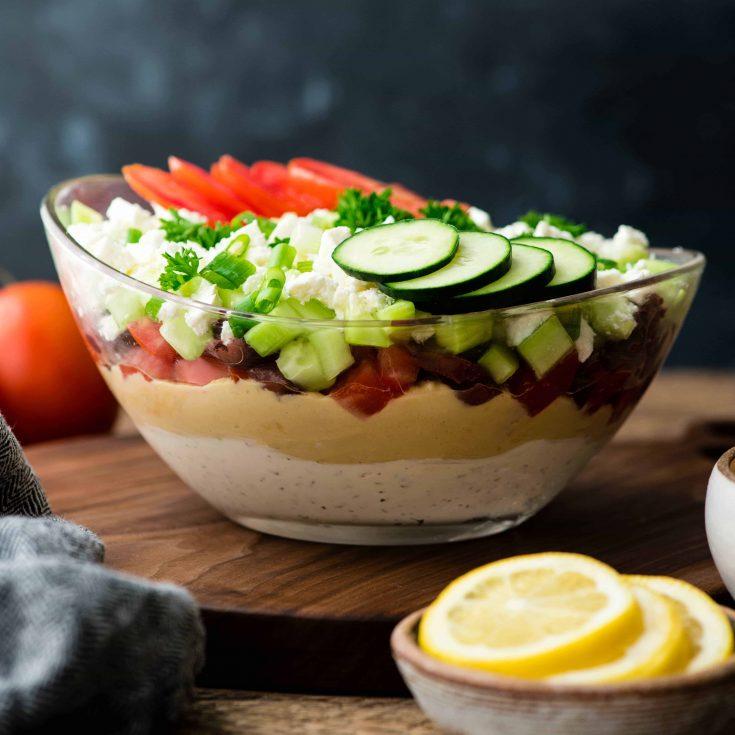 Easy Layered Greek Dip Recipe