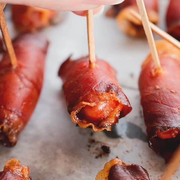 Bacon Wrapped Little Smokies Recipe