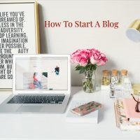 How to start a blog square