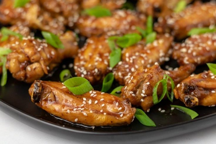 Oven Baked Teriyaki Chicken Wings