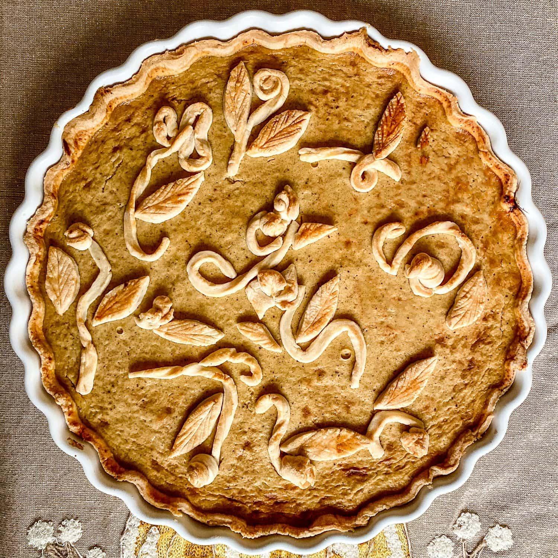 Whiskey Flavored Pumpkin Pie11