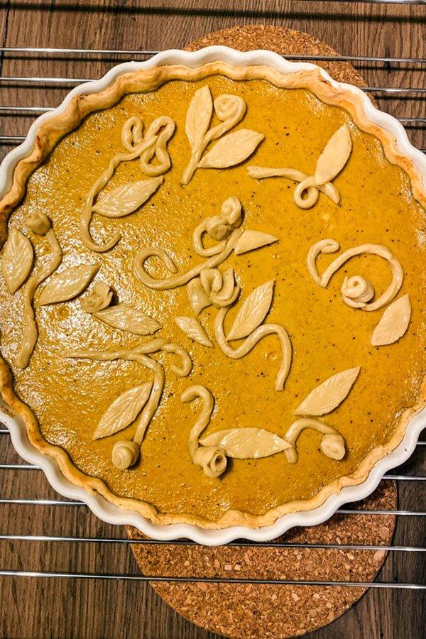 Whiskey Flavored Pumpkin Pie44