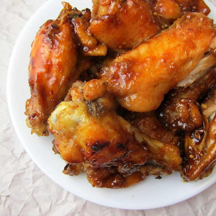 Honey Garlic Wings {Instant Pot or Slow Cooker}