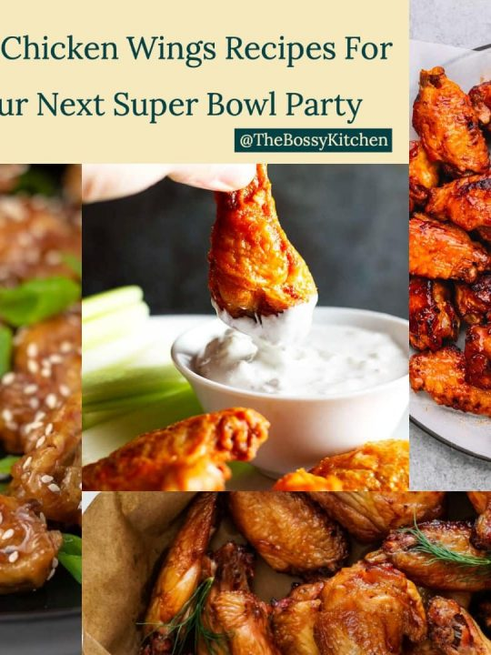 best chicken wings recipes for your next Super Bowl party square