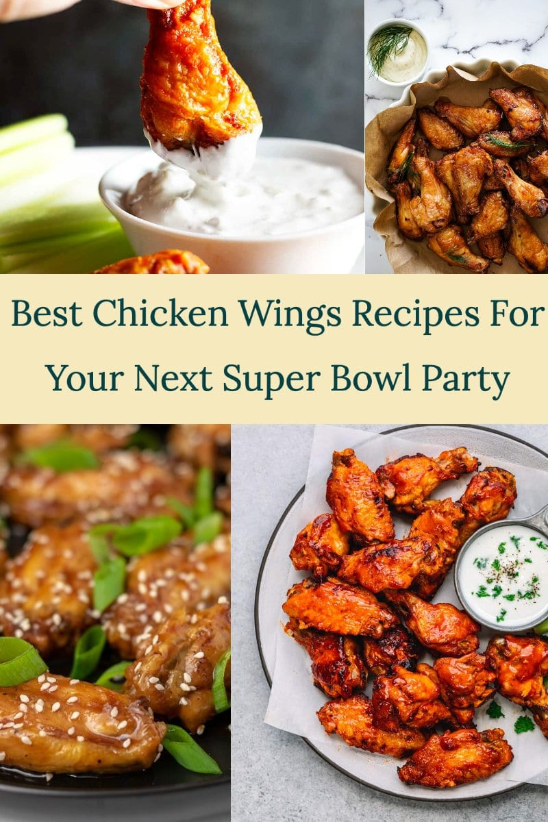 best chicken wings recipes for your next Super Bowl party