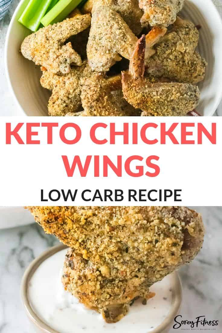 Keto Chicken Wings Recipe – Crispy Parmesan Wings for Game Day!