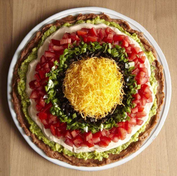 7 Layer Dip Recipe - Impressive Party Appetizer