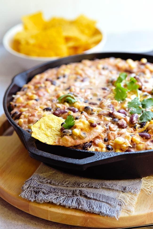 Hot Mexican Bean Dip