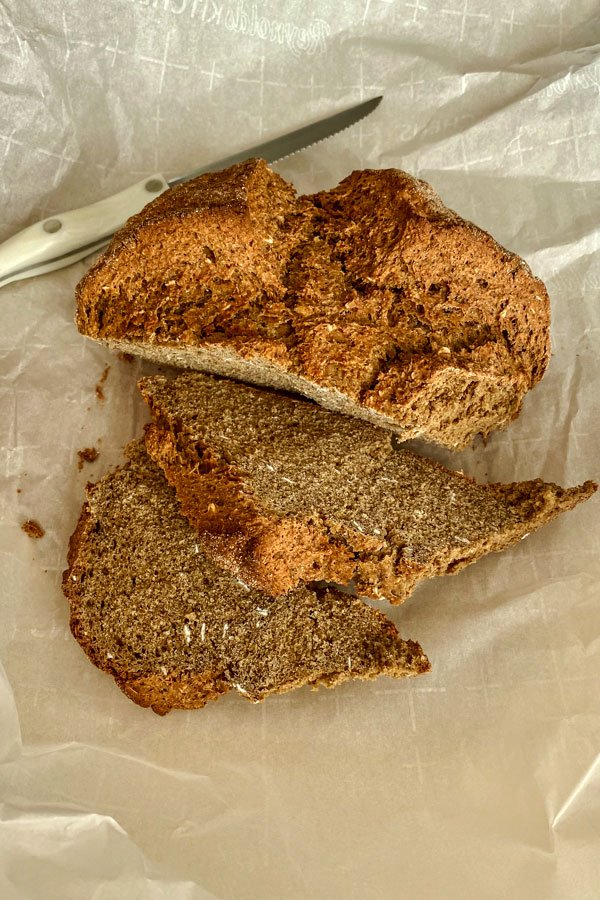 Irish Brown Soda Bread With Molasses1212