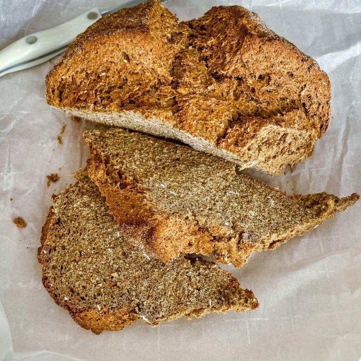 Irish Brown Soda Bread With Molasses