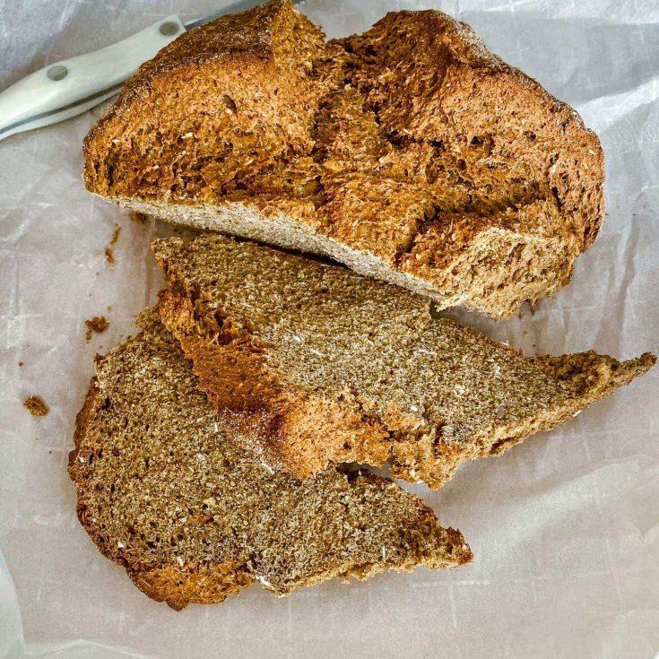 Irish Brown Soda Bread With Molasses