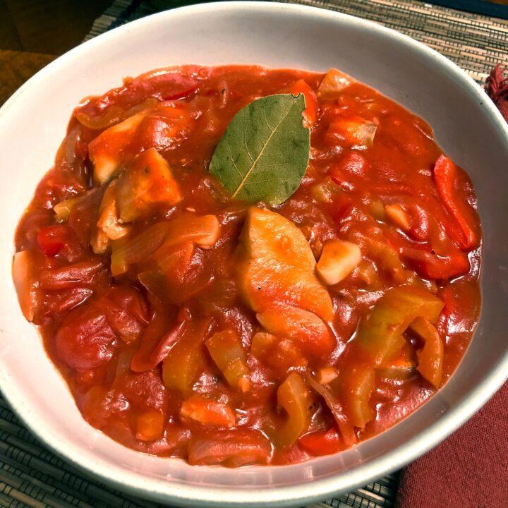 Cod Fish In Tomato Sauce A Spanish Favorite1313