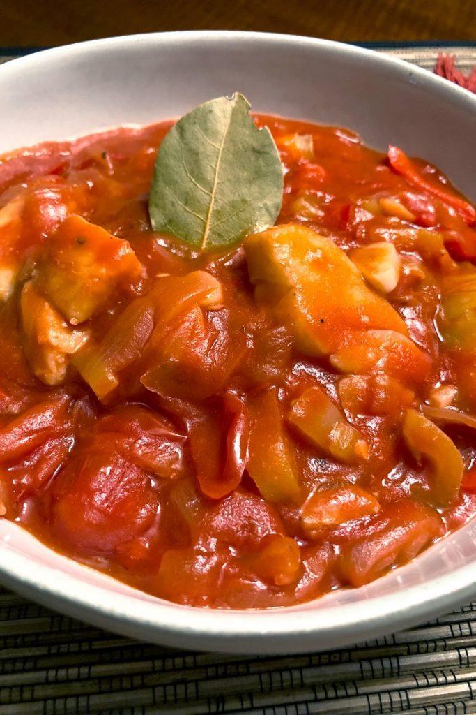 Cod Fish In Tomato Sauce A Spanish Favorite1414