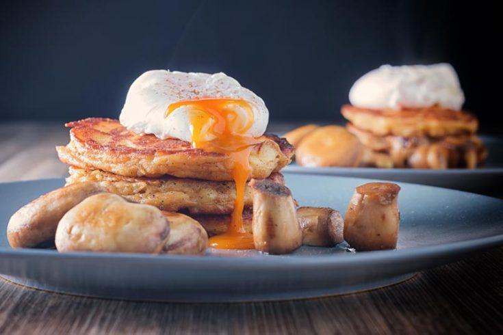 Traditional Irish Boxty Potato Pancake