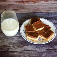 Triple Layer Chocolate Peanut Butter Cookie Bars99