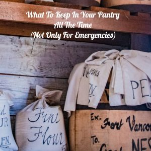 What To Keep In Your Pantry All The TimeNot Only For Emergencies2