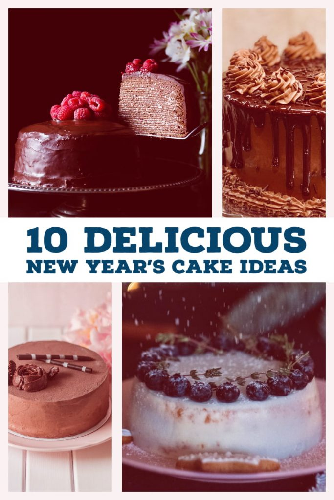 10 Delicious New Years Cake ideas- featured picture