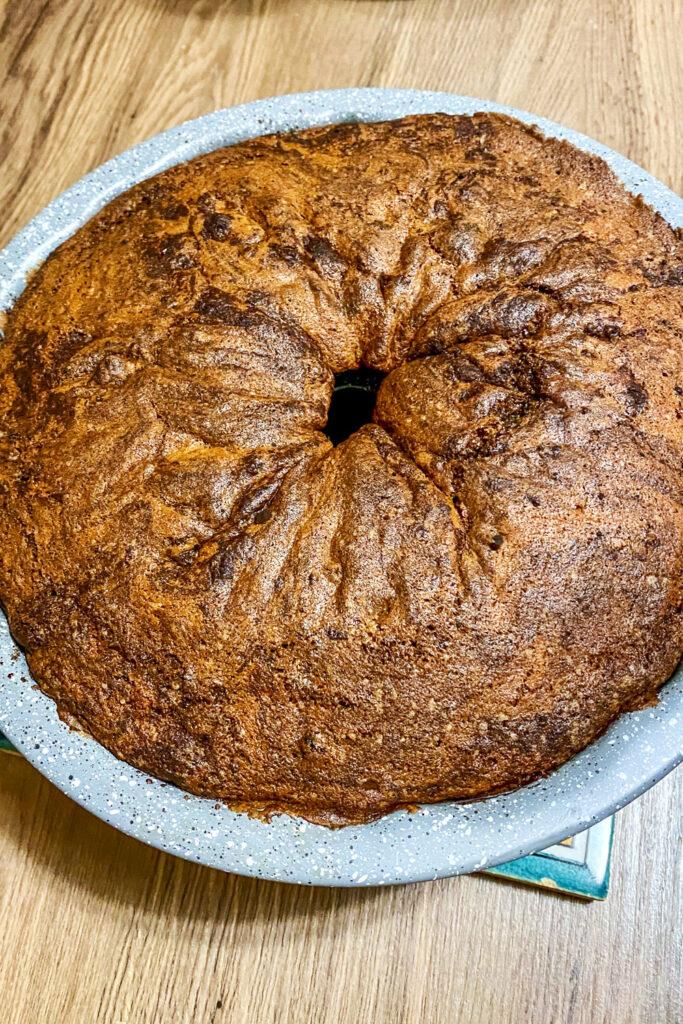 Cinnamon Swirl Coffee Cake baked0