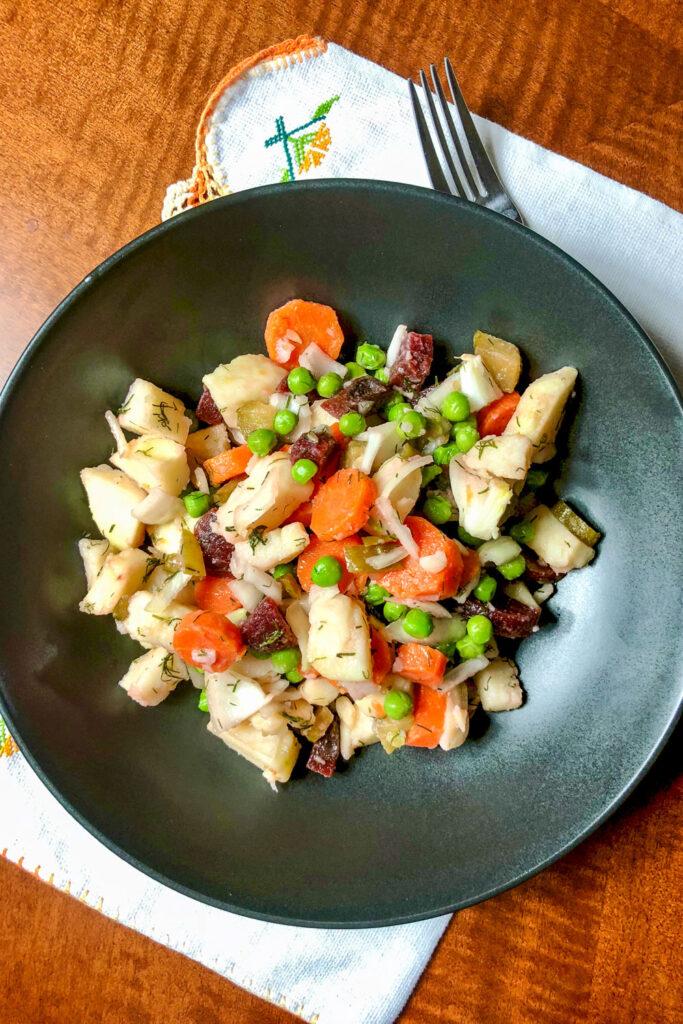 Russian Vinaigrette Salad0