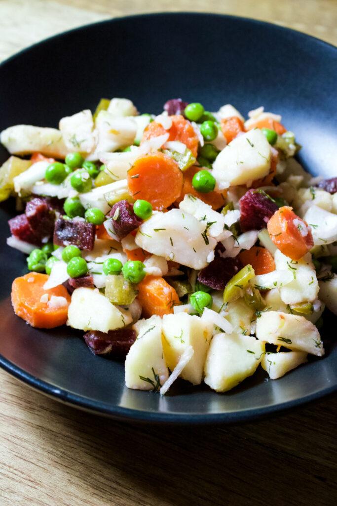 Russian Vinaigrette Salad11