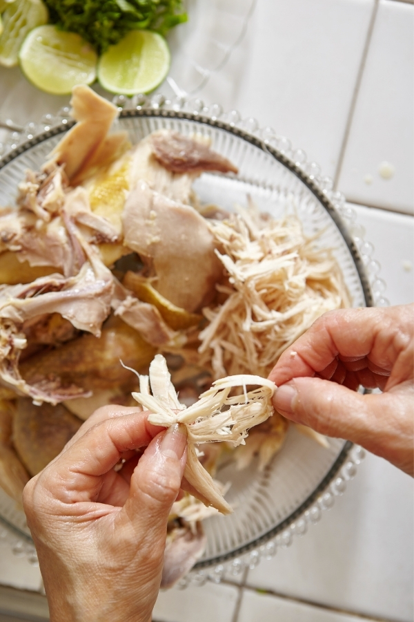 shredded chicken for chicken tinga