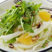 Orange Fennel Arugula Salad Featured Photo