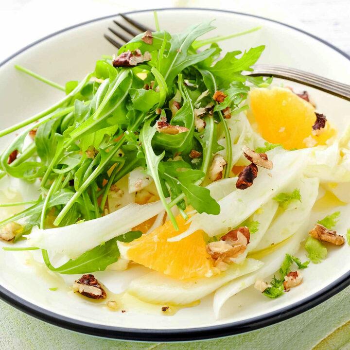 Orange Fennel Arugula Salad square picture0
