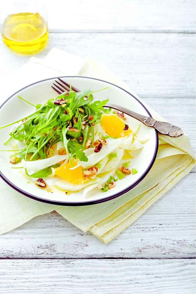 Orange Fennel Arugula Salad0