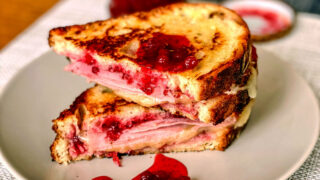 Grilled Ham and Cheese Cranberry Sandwich Featured picture