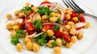 Spicy Chickpea Salad Featured photo