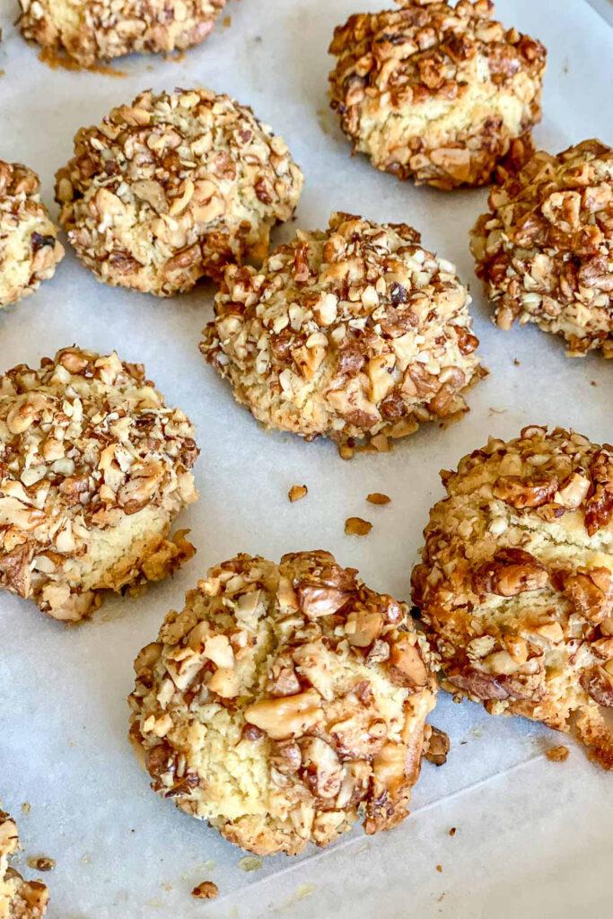 Baked Walnut Shortbread Cookies0