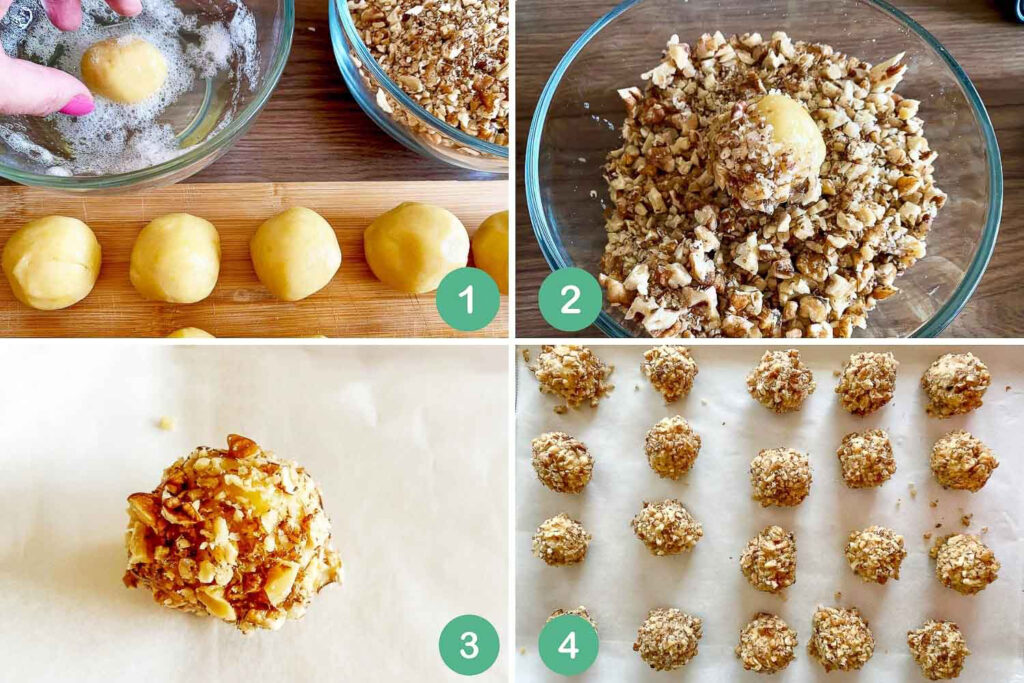 Steps to make the cookies110