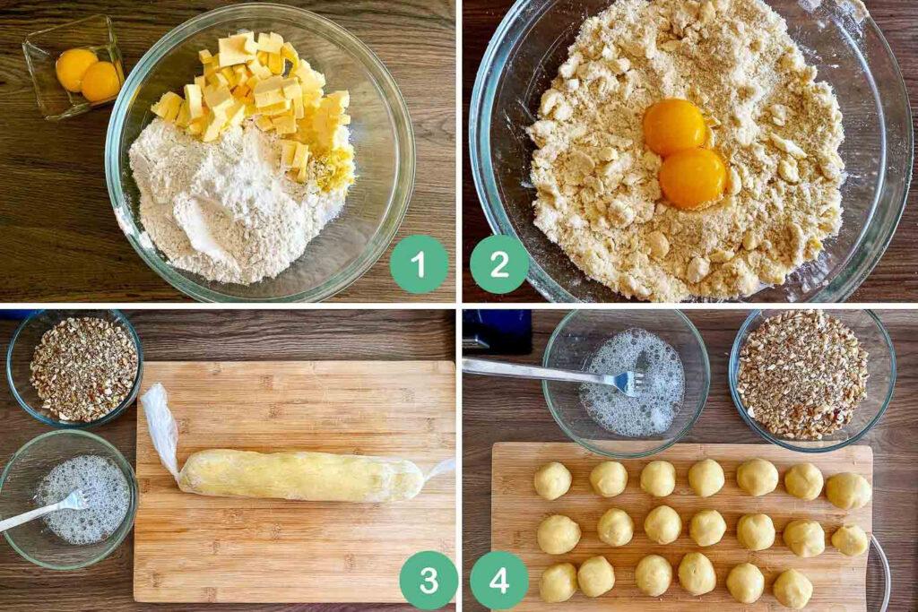 Steps to make the dough2