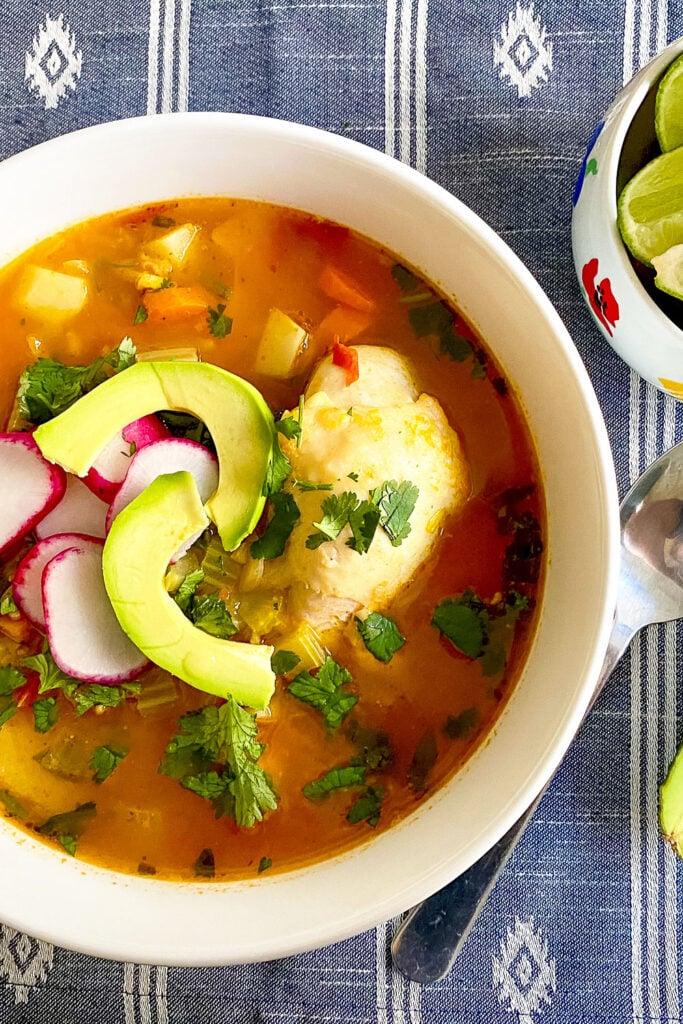 Caldo de Pollo Mexican Chicken Soup Pinterest0